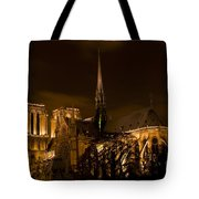 Notre-dame De Paris After Dark Tote Bag