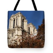 Notre-dame De Paris - French Gothic Elegance In The Heart Of Paris France Tote Bag