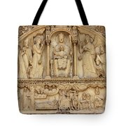 Notre Dame Detail Tote Bag
