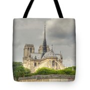 Notre Dame From The Seine Tote Bag