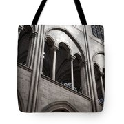Notre Dame Gothic Arches Tote Bag