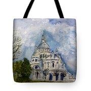 Sacre Coeur In Paris Tote Bag