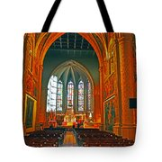 Notre Dame Of Luxembourg Tote Bag