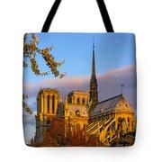 Notre Dame Sunrise Tote Bag
