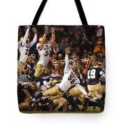 Notre Dame Versus Navy Tote Bag