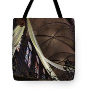 Notre Dame With Cream Swag Tote Bag