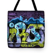 Nouveau Graffiti Tote Bag