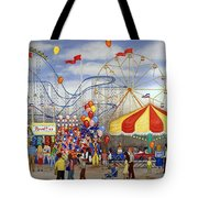 Novelties At The Carnival Tote Bag