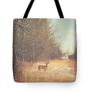 November Deer Tote Bag