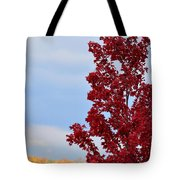 November Red Tote Bag