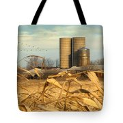 November Winds Tote Bag