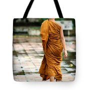 Novice Monk Of Chedi Luang Tote Bag