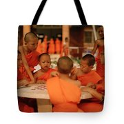 Novice Monks Tote Bag