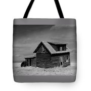 Now An Old Stand For Tractor Tires Tote Bag