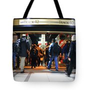 Now Boarding Track 12 And 10 For Home Tote Bag