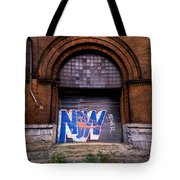 Now Graffiti Tote Bag