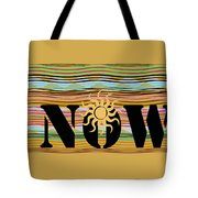 Now Wavy Tote Bag