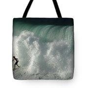 Nowhere To Hide Nowhere To Swim Tote Bag
