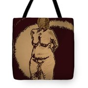 Nude Acting Tote Bag