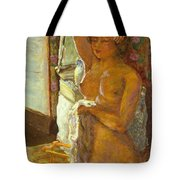 Nude Against The Light Tote Bag by Granger