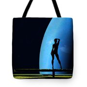 Nude Amongst The Stars... Tote Bag