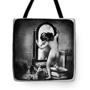 Nude And Mirror, C1850 Tote Bag