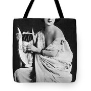 Nude As Ancient Lyrist Tote Bag