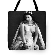 Nude As Ancient Ruler Tote Bag