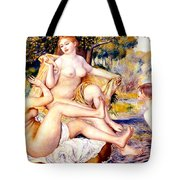 Nude Bathers Tote Bag
