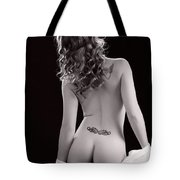 Nude Girl Woman Booty 1200.01 Tote Bag