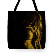 Nude - Chiaroscuro Tote Bag by Dorina  Costras