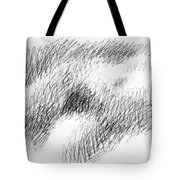 Nude Female Abstract Drawings 1 Tote Bag