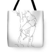 Nude Female Drawings 1 Tote Bag