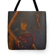 Nude In Darkness Tote Bag