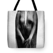 Nude In Sheer Clothing Tote Bag