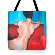 Nude Lady - Mad Men Tote Bag
