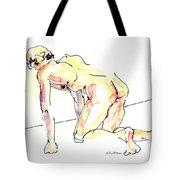 Nude Male Drawings 3w Tote Bag