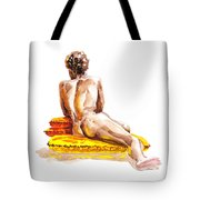 Nude Male Model Study Vi Tote Bag