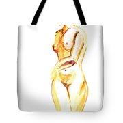 Nude Model Gesture II Tote Bag