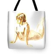 Nude Model Gesture Iv Tote Bag
