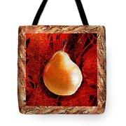 Nude N Beautiful Pear  Tote Bag