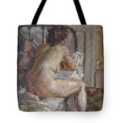Nude On A Bed, C.1914 Tote Bag