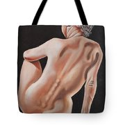 Nude On A Pedestal Tote Bag
