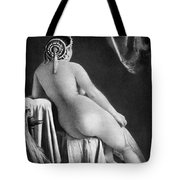 Nude Posing: Rear View Tote Bag