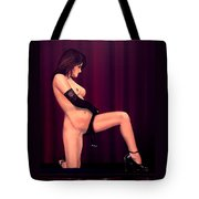Nude Stage Beauty Tote Bag