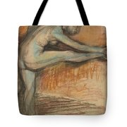 Nude Study For A Dancer At The Bar Tote Bag