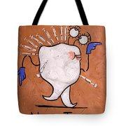 Numb Tooth Dental Art By Anthony Falbo Tote Bag