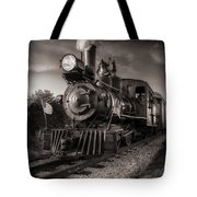 Number 4 Narrow Gauge Railroad Tote Bag