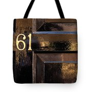 Number 61 Tote Bag