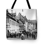 Nuremberg Street Scene Tote Bag